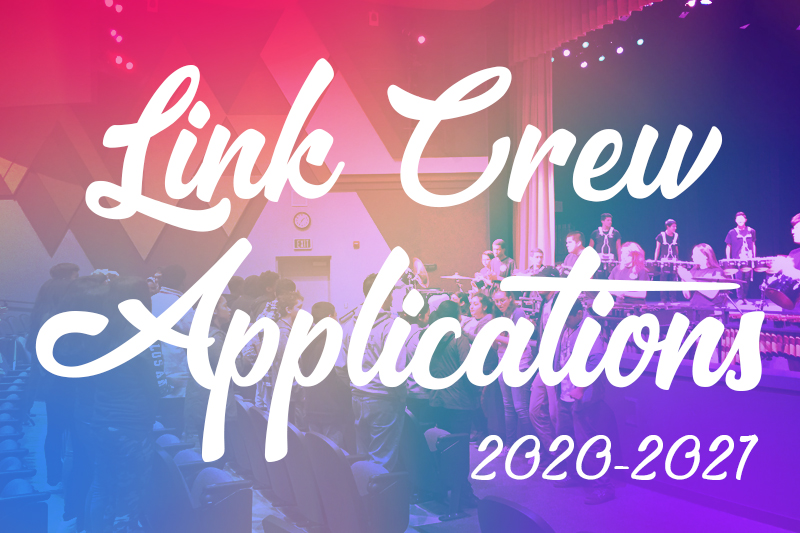 Link Crew Applications 2020-21