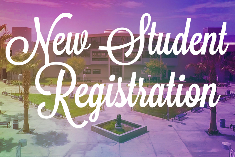New Student Registration 2020
