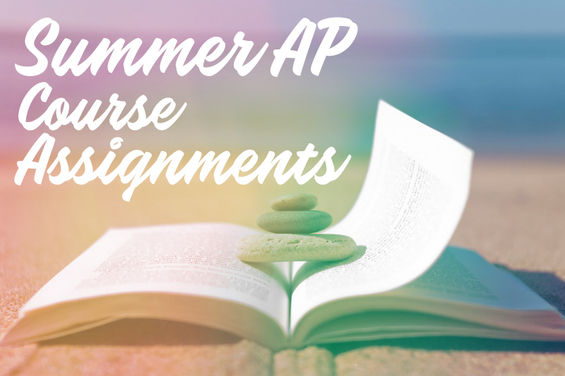 AP & Honors Summer Work 2019